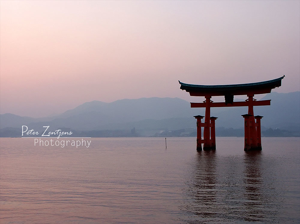 Sunrise at Miyajima